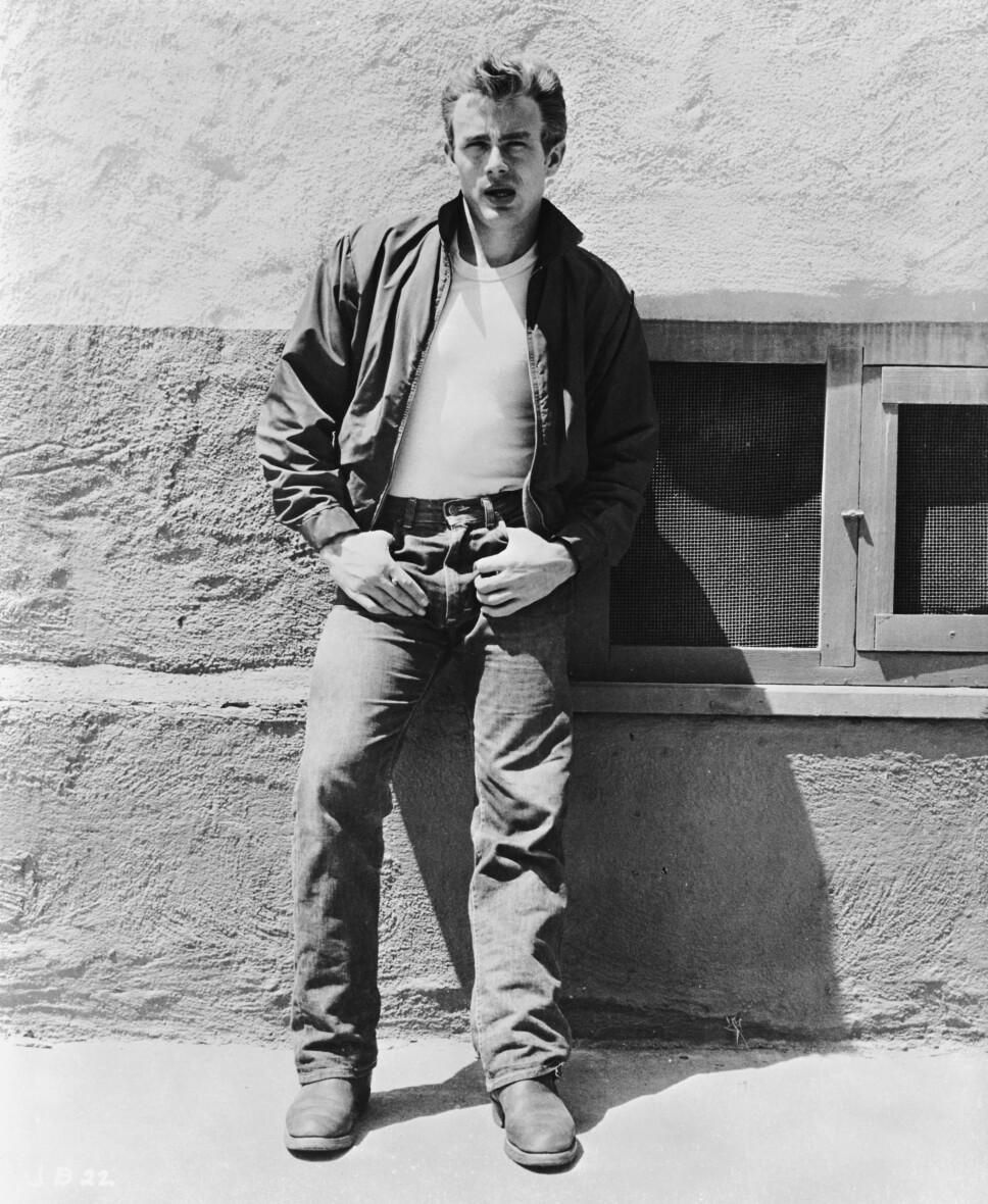 EN TIL: Nok et bilde av James Dean med jeans, bare fordi. Vær så god, folkens!