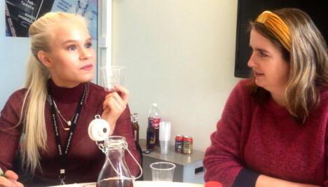 TESTPANELET: Astrid-Helen Holm (t.v.) og Mari Parelius-Wammer.
