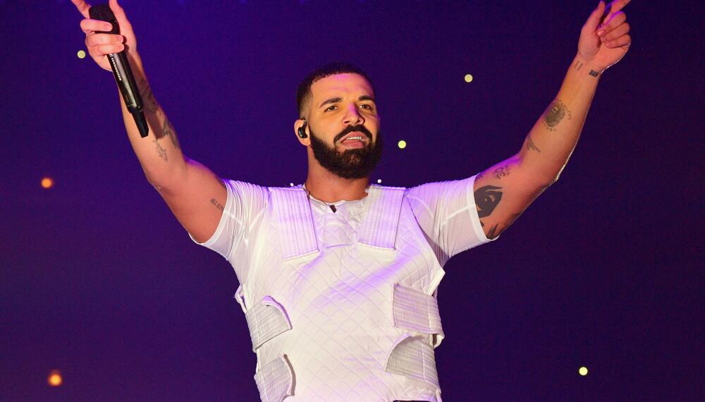 TRONER PÅ LISTENE: Drake er den mest streamede artisten på Spotify i 2018.