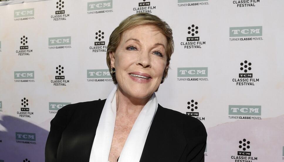 50 ÅR SENERE: Julie Andrews på en visning av «Sound of Music» i anledning filmens 50-årsjubileum i Los Angeles.