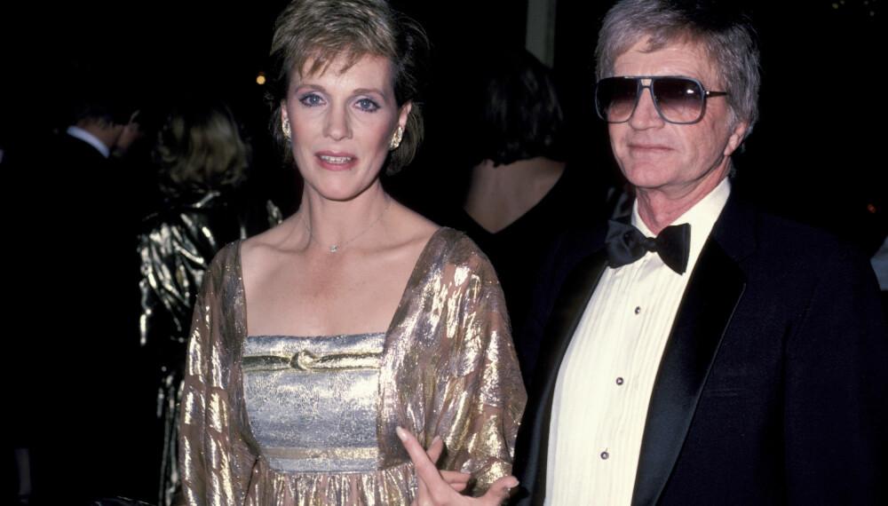 EKTEMANN NR. 2: Julie Andrews giftet seg med regissør Blake Edwards i 1969. Han regisserte siden mange av filmene til kona.