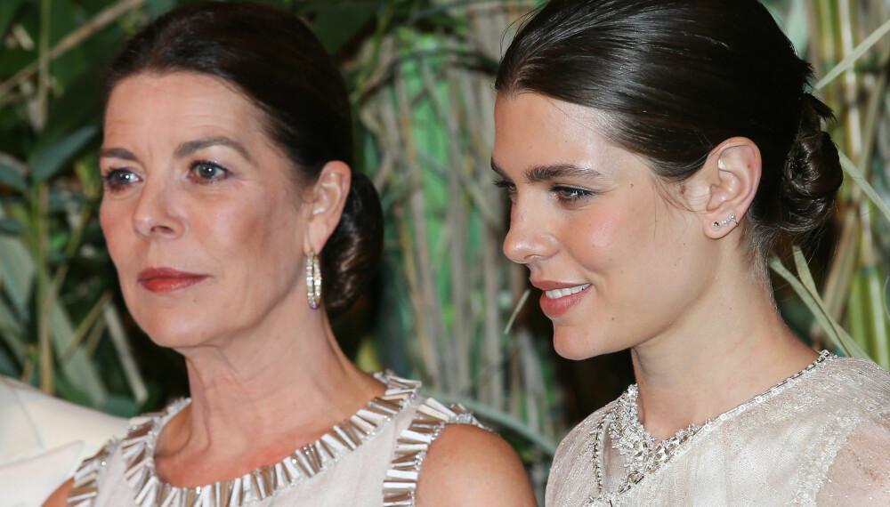 MAMMAJENTE: Charlotte Casiraghi får råd og hjelp av mamma prinsesse Caroline når hun opplever motgang.