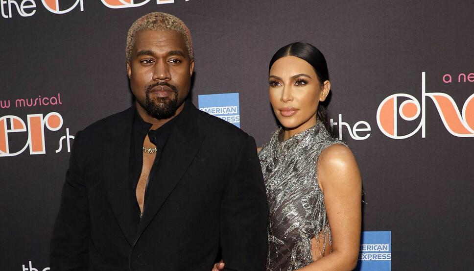 FORELDRE FOR FJERDE GANG: Kanye West og Kim Kardashian venter sitt fjerde barn ved hjelp av en surrogatmor.