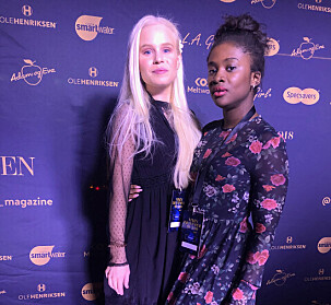 Astrid-Helen Holm og Felicia N. Donkor fra Side2.