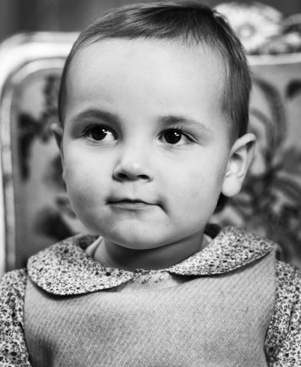 2006: Prinsesse Ingrid Alexandra fotografert da hun var to år.