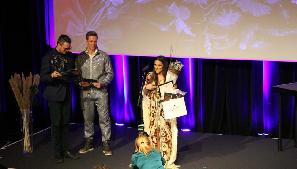 FESTKVELD: Vixen Influencer Awards er influencerbransjens store festkveld. Her mottar Funkygine prisen for årets treningsblogger.