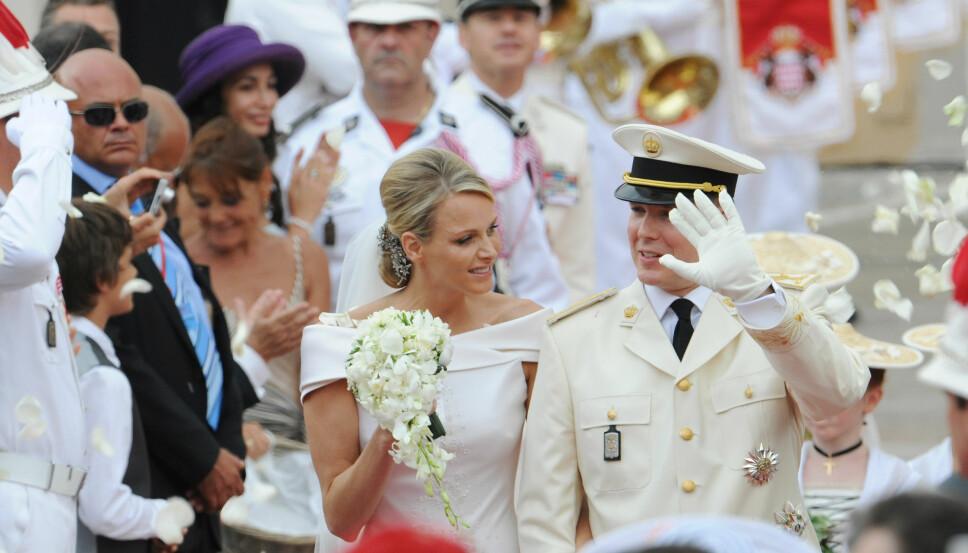 RYKTEFLOM: Allerede rundt bryllupet til fyrst Albert og Charlene dukket det opp rykter om at hun ikke var lykkelig.