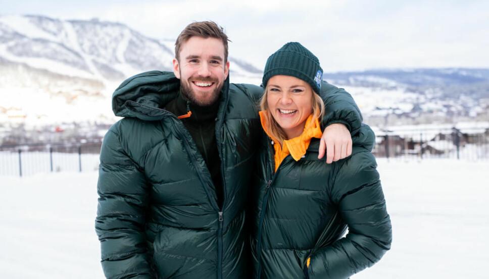 GLEDER SEG: I disse dager kan du følge Helene og Stian i en ny sesong av «Senkveld».