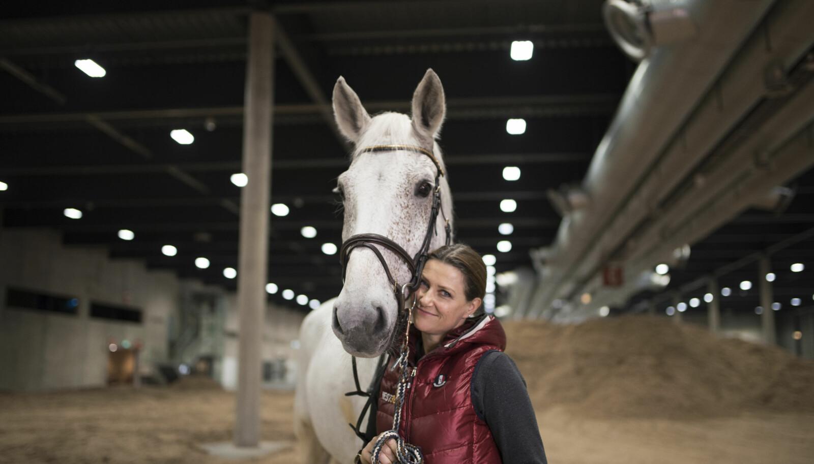 Prinsesse Märtha Louise har funnet glede i hest siden hun var et barn.