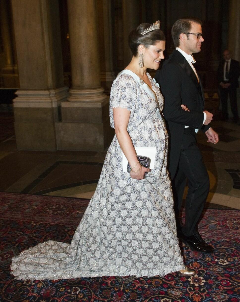 Victoria og Daniel under Nobelmiddagen i 2011.