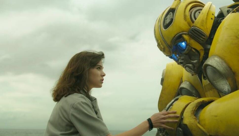 """NYTT TILSKUDD: Hailee fra filmen """"Bumblebee"""", der hun spiller tenåringsjenta Charlie Watson - helten i det nyeste tilskuddet i «Transformers»-franchisen."""