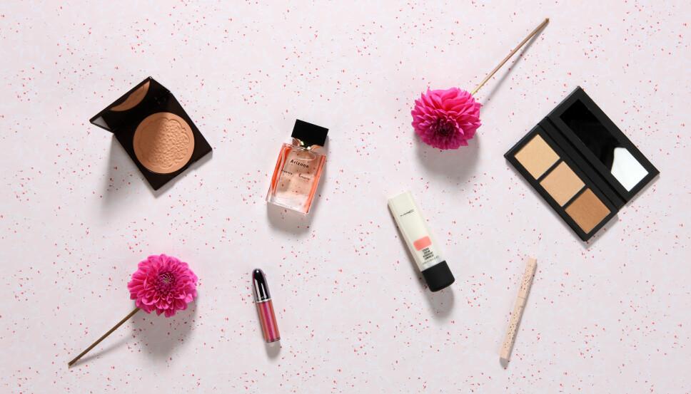 DEILIG SKJØNNHET: Skjønne produkter som gir deg den perfekte solkyssede looken.
