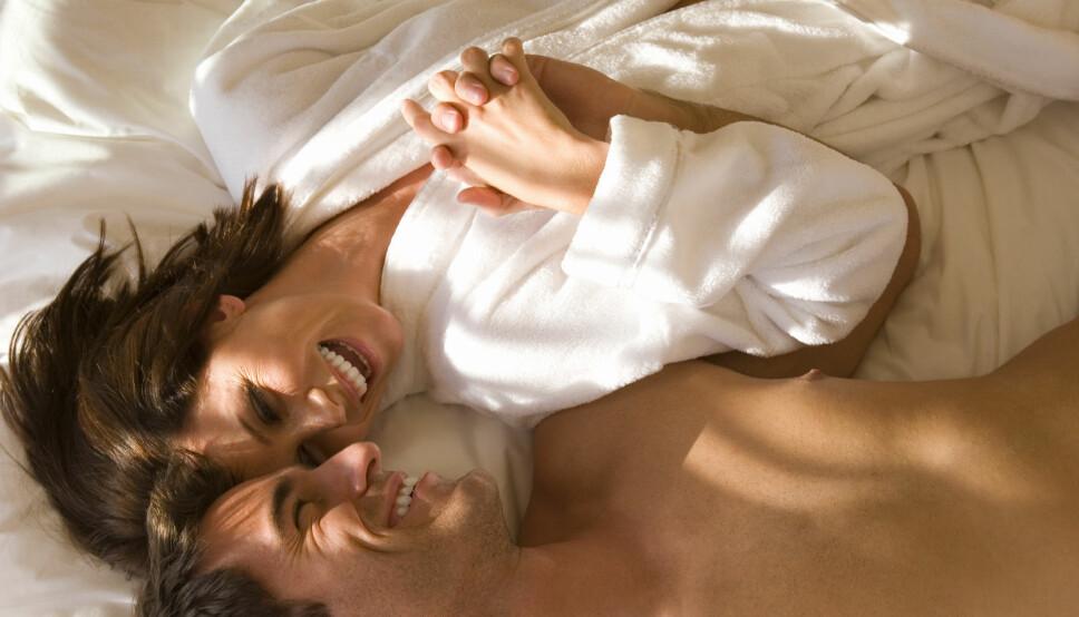 MANGE FORDELER: Å ha regelmessig sex kan hjelpe på både sinn og kropp. Mange meget gode grunner til å hoppe til sengs i helgen, altså!
