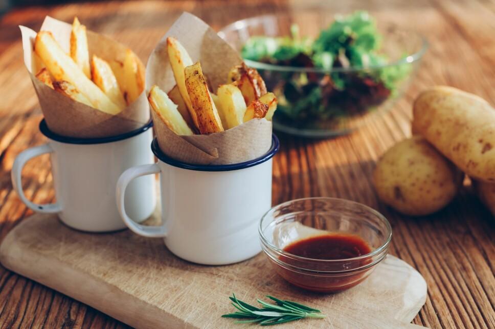 VIKTIG MATVARE: Har poteten fått et ufortjent dårlig rykte? Ja, mener matforsker Simon Ballance i matforskningsinstituttet Nofima.