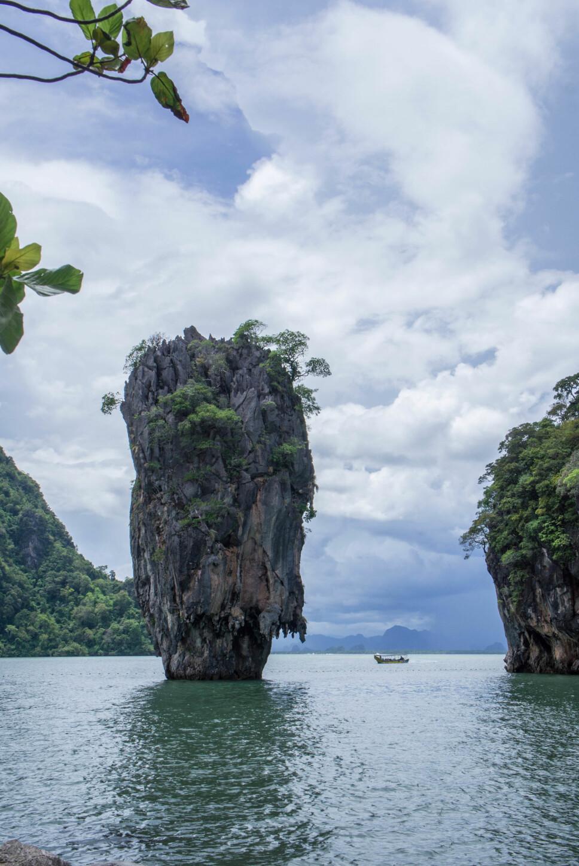 KHAO PHING KAN: Du har nok sett bilder av øya, som populært kalles «James Bond Island», men vet du hvor den ligger?