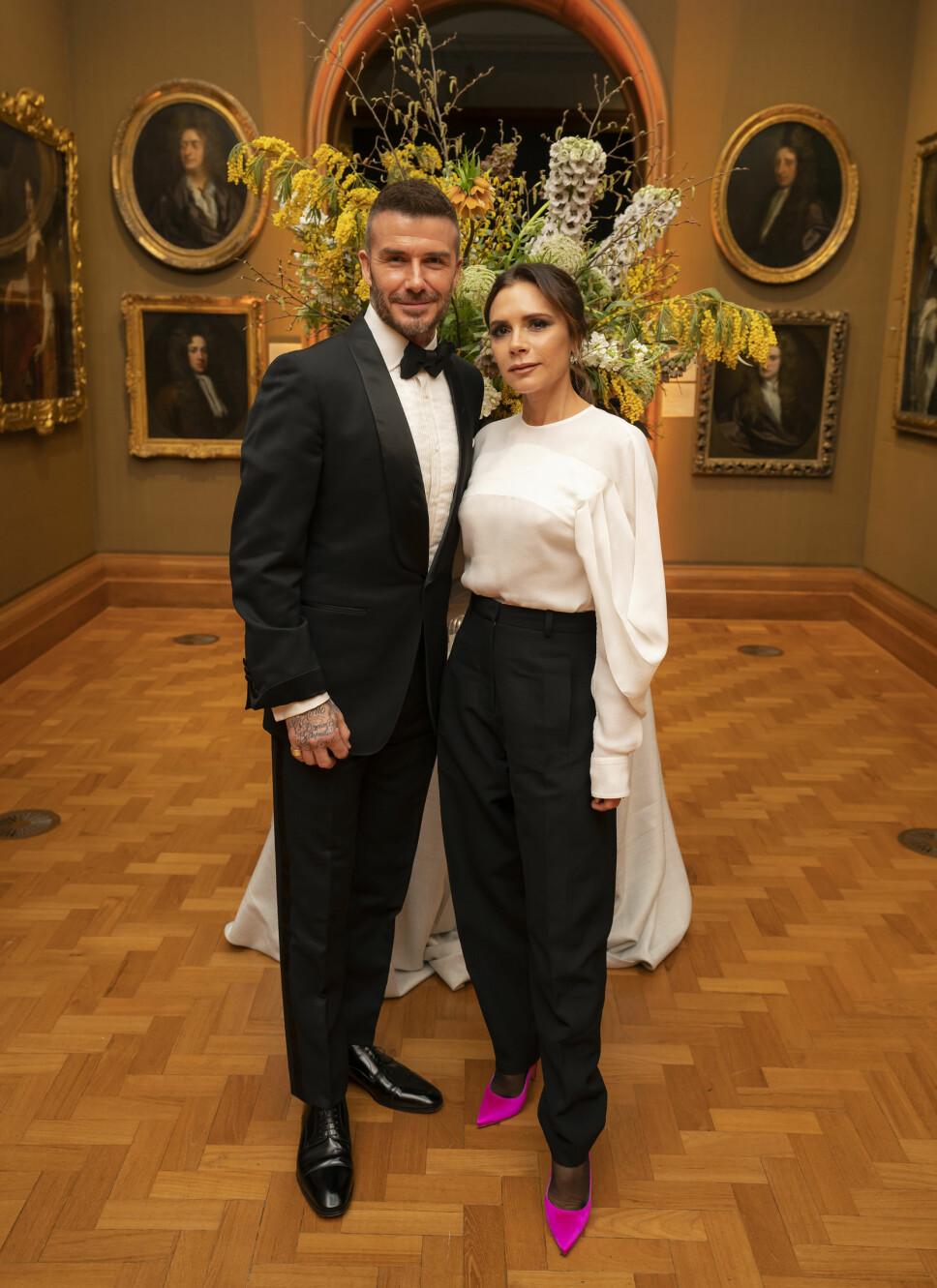 HOLDER SAMMEN:  David og Victoria giftet seg i 1999 og er stadig veldig forelsket, til tross for rykter om utroskap og skilsmisse.