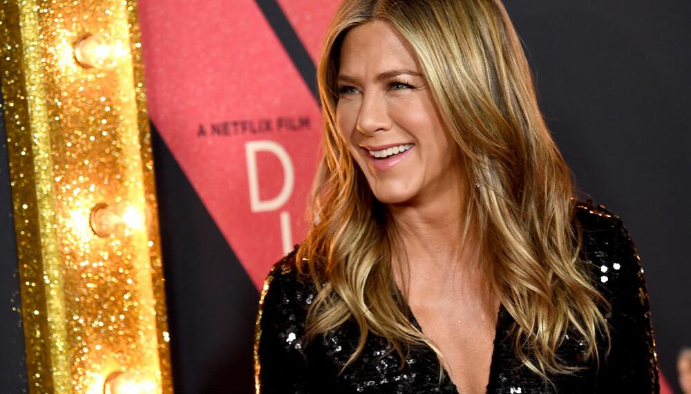 HAR DYSLEKSI: Skuespiller Jennifer Aniston oppdaget ved en tilfeldighet at hun har dysleksi.