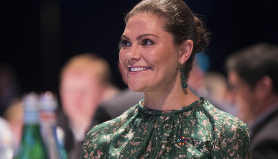 FØLTE SEG DUM: Kronprinsesse Victoria av Sverige har tidligere uttalt at hun ofte følte seg dum i barndommen.