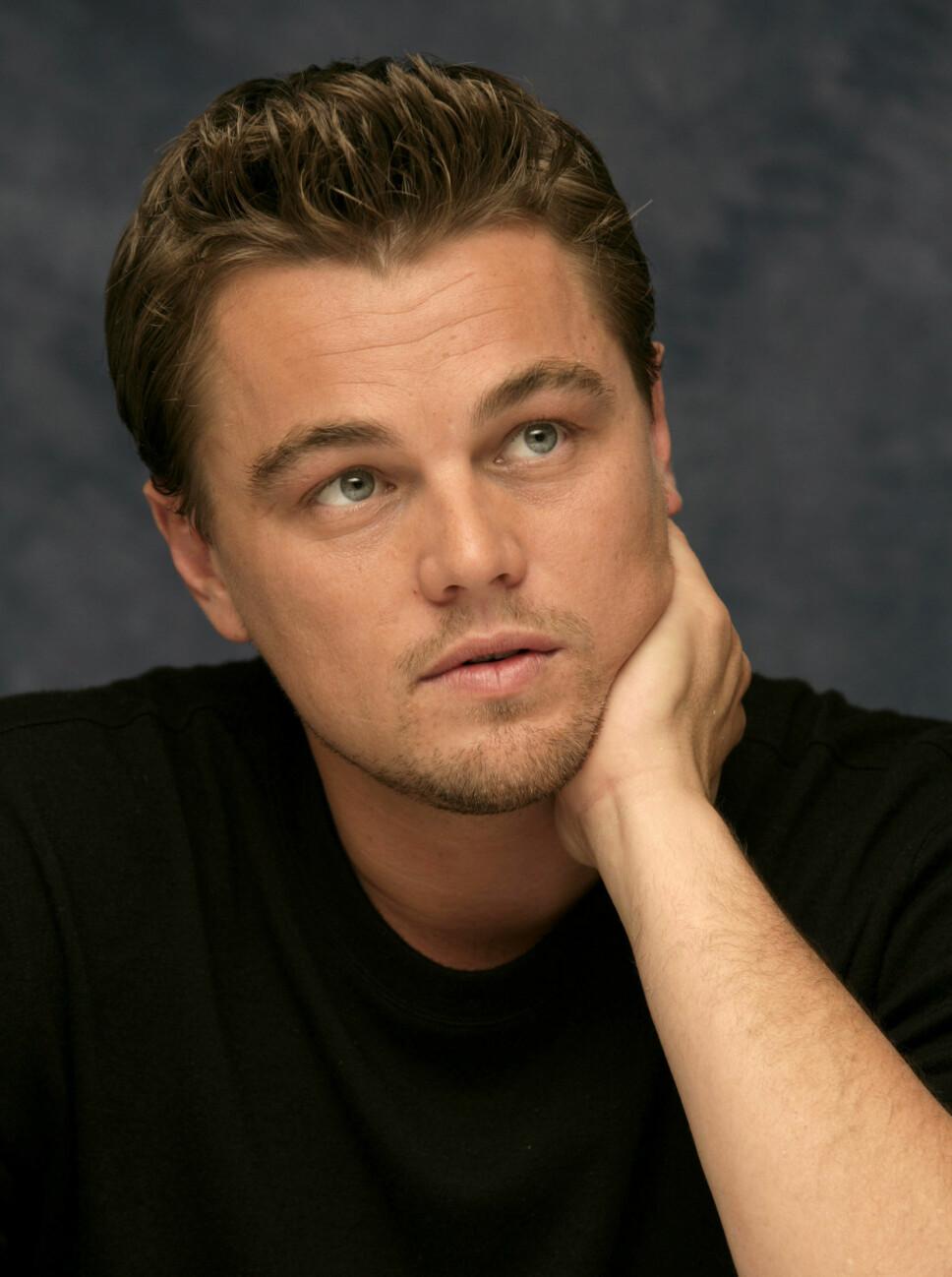 MILJØVERNER: Hollywood- stjernen Leonardo DiCaprio har viet Greta oppmerksomhet på sosiale medier.