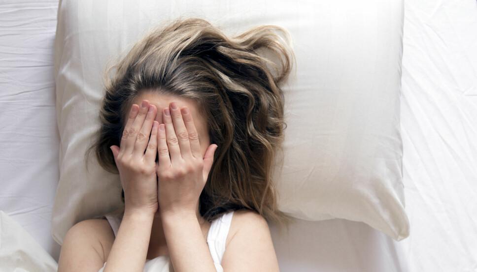 SØVPROBLEMER: Når du sover for lite, blir du i dårligere humør samtidig som at du får problemer med å kontrollere følelser som sinne og frustrasjon. Kanskje ikke den beste komboen?