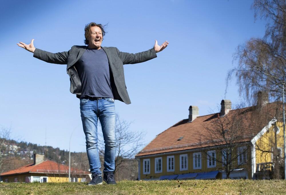 <b>GÅRDSLIV:</b> Østvik imponerte stort under Farmen kjendis. Han er glad for både opplevelsenog den nye matchvekten.