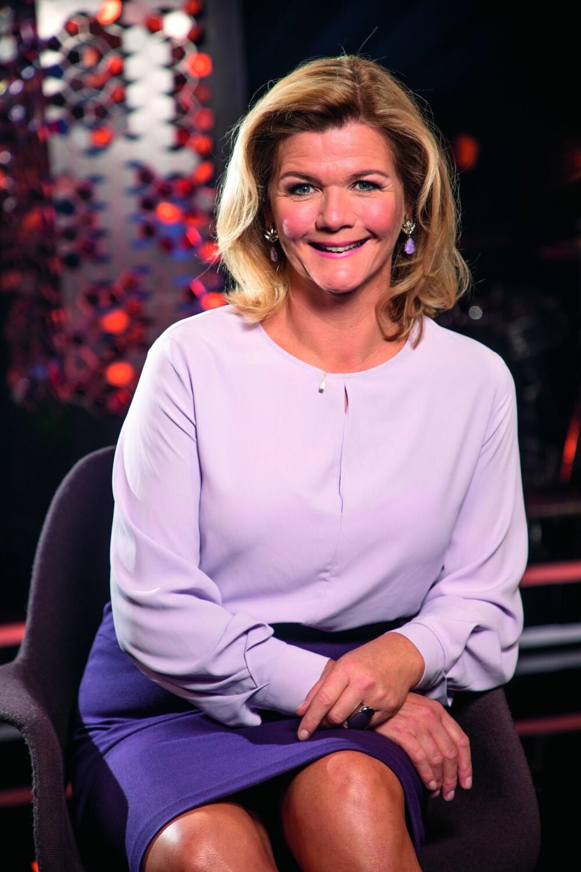 NRK-DRONNING: Anne Lindmo har allerede vunnet en rekker priser som programleder, men setter ekstra pris på å være en av publikums favoritter.