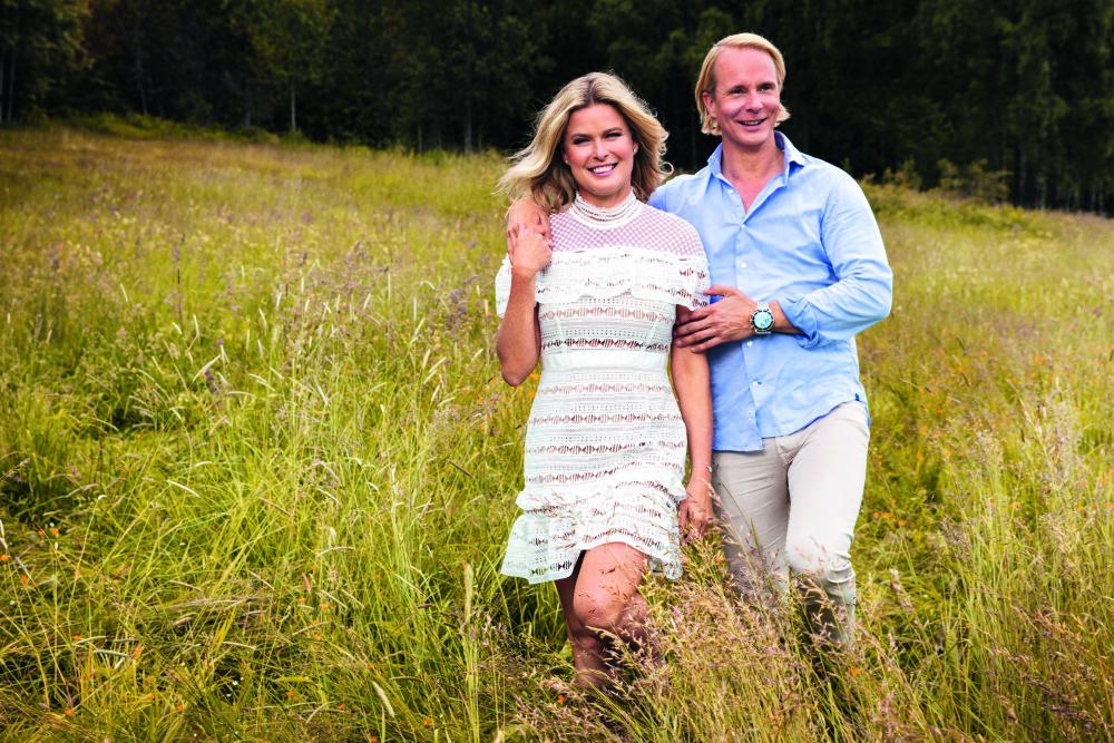 BLIR SAMBOERE: Petter og Vendela har nettopp kjøpt seg leilighet på Vinderen i Oslo. Nå ser de frem til å bo sammen.