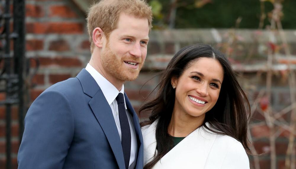 NYBAKTE FORELDRE: Prins Harry og hertuginne Meghan har blitt foreldre til en liten gutt.