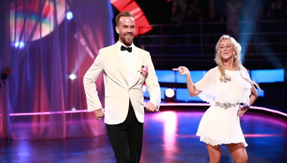 DANSELØVE: I fjor høst gjorde Morten Hegseth stor lykke i «Skal vi danse» på TV 2. Han danset sammen med Mai Mentzoni.