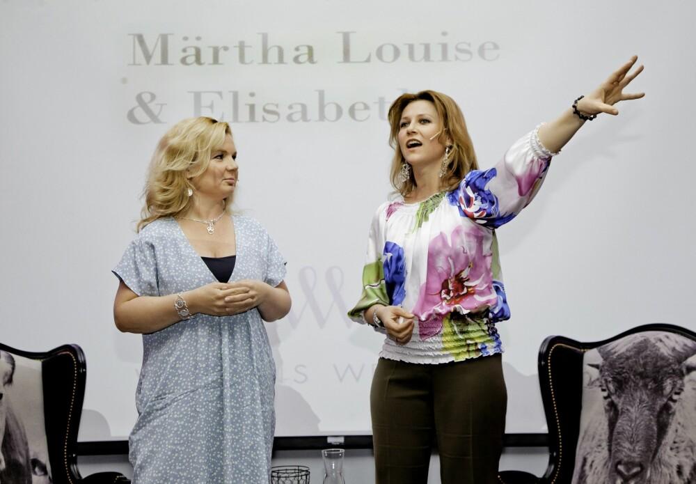 ENGLESKOLE: Märtha Louise og Elisabeth Nordeng har måttet tåle mye kritikk for sine alternative tanker.