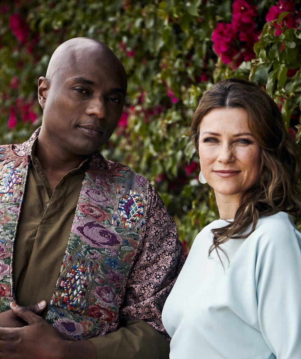 FANT KJÆRLIGHETEN: Prinsesse Märtha Louise og Shaman Durek bekreftet i mai at de har blitt et par.