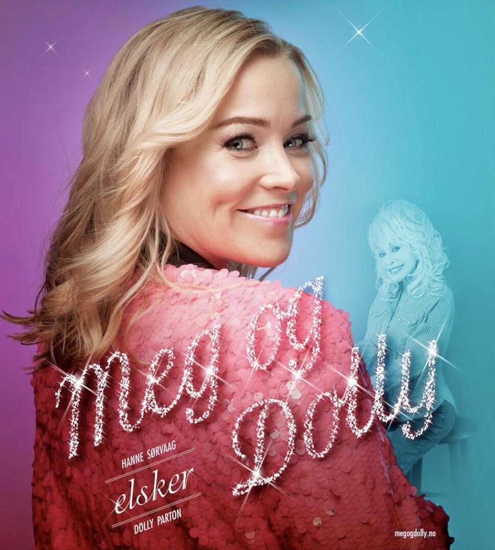 HYLLER IDOLET: Hanne er for tiden aktuell med sin versjon av Dolly Partons legendariske låt »Jolene». 12. februar i 2020 har hun premiere på showet «Meg og Dolly» hvor hun hedrer artisten.