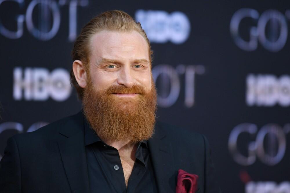 VIKTIG SKJEGG: Kristofer Hivju har hatt kontrakt på at han må ha skjegg i «Game of Thrones». Nå er serien slutt, og han kan gjøre som han vil.