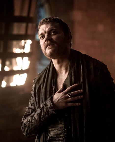 SKURK: Pilou Asbæk i rollen som Euron Greyjoy.