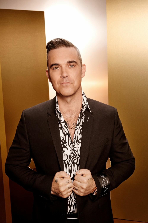 <b>POPULÆR:</b> Robbie Williams har vært en av verdens mest populære artister helt siden han slo gjennom allerede som 17-åring.