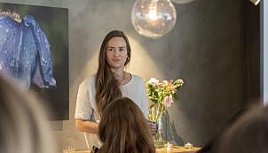 Victoria Terese Hauk, markedssjef i Tise forteller om samarbeidet med Amnesty.