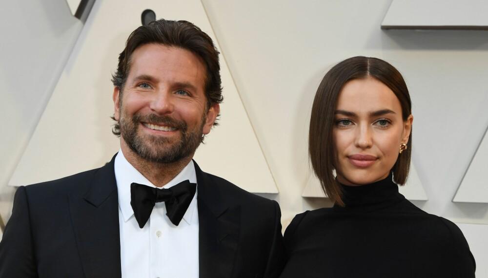 GÅR HVERT TIL SITT: Det er slutt mellom Bradley Cooper og Irina Shayk.