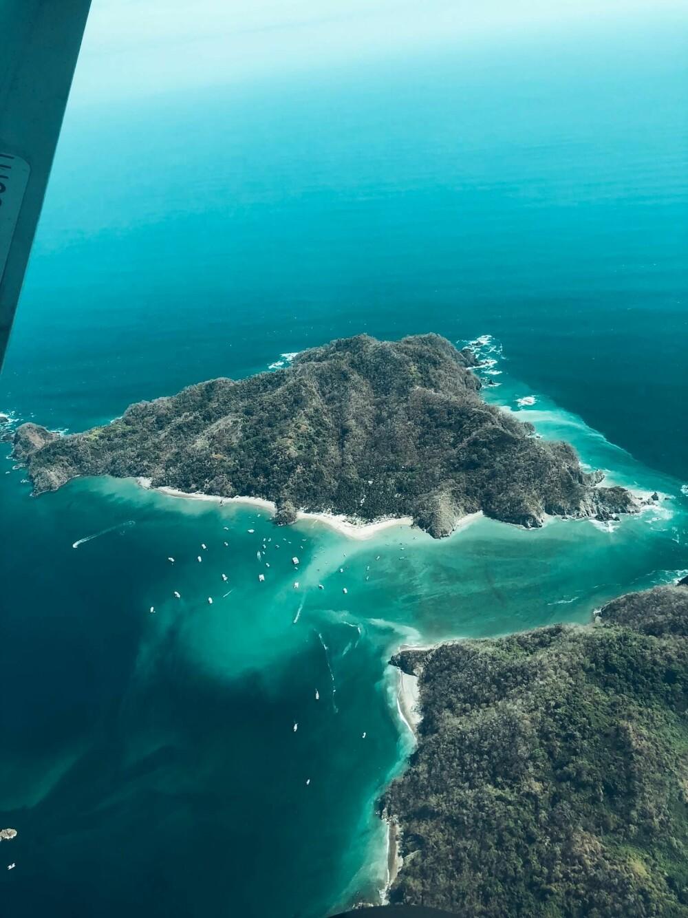 Det lille paradiset Santa Teresa i Costa Rica.