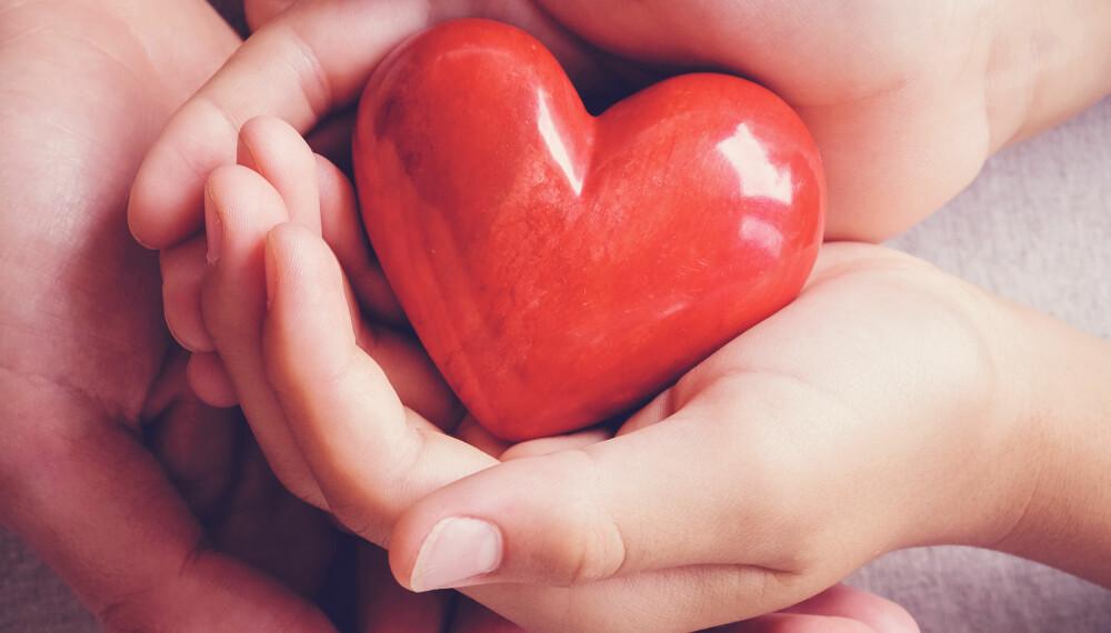 KAN REDDE LIV: Dine organer kan komme noen andre til nytte i tifelle du går bort brått.