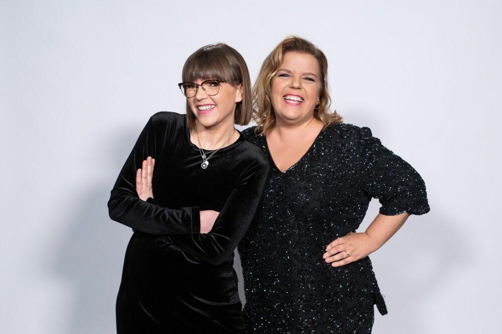 SUPERSØSTRE: Else og Cecilie Ramona Kåss Furuseth gjør begge stor suksess på TV-skjermen. De er både søstre og bestevenner.