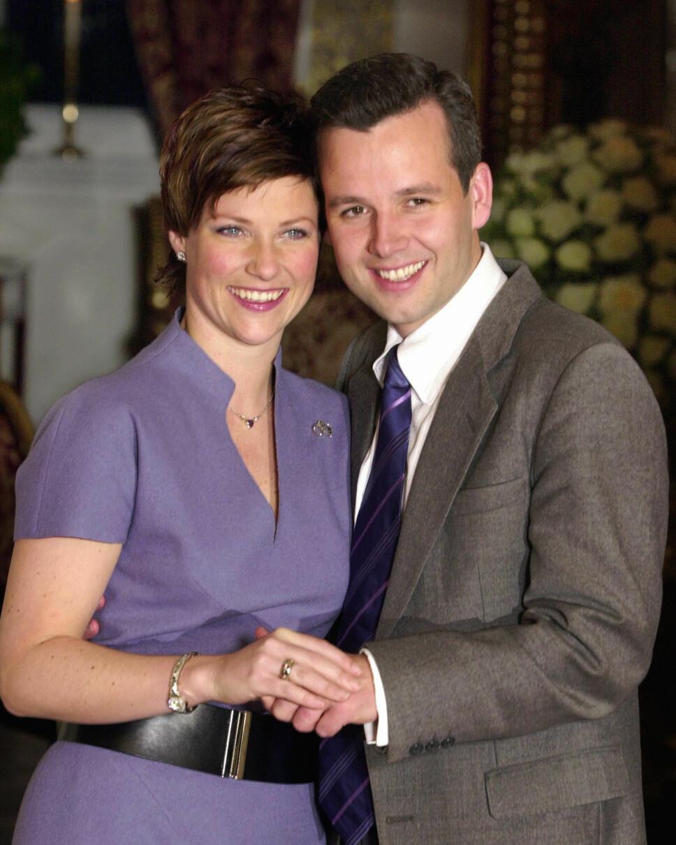 BRUDD: Etter å ha vært gift i hele 14 år, valgte prinsesse Märtha Louise og Ari Behn å gå hver til sitt i 2016. – Vi har som mange andre vokst fra hverandre, sa de i en felles presse- melding den gang.