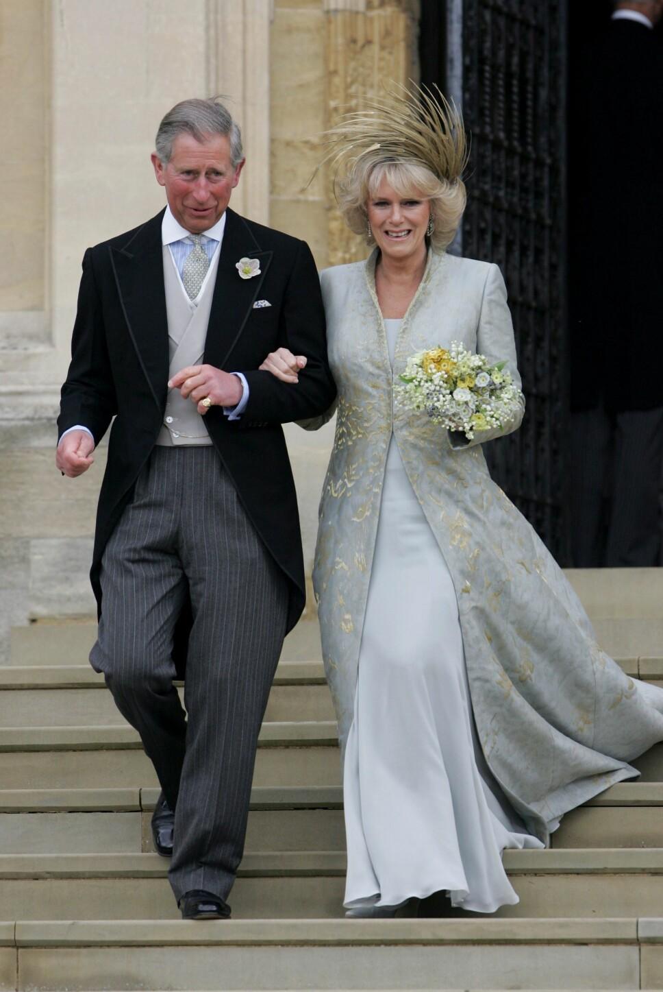 DEN RETTE: Prins Charles og Camilla har kjent hverandre i mange år, og var til og med ungdoms- kjærester. Til tross for ekteskap på hver sin kant, har de aldri glemt hverandre og i 2005 giftet de seg.