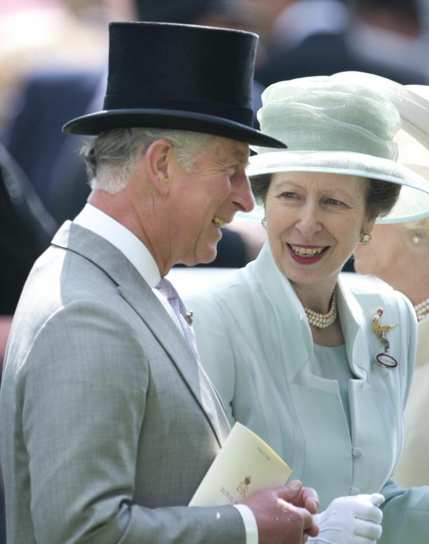 SKILT: Prins Charles yngre søster, prinsesse Anne, har vært gift to ganger, og ble en av de første på mange år i den britiske kongefamilien som skilte seg, da hun og ektemannen Mark skilte seg i 1992.
