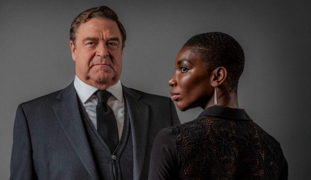 John Goodman og Michaela Coel fra «Black Earth Rising».