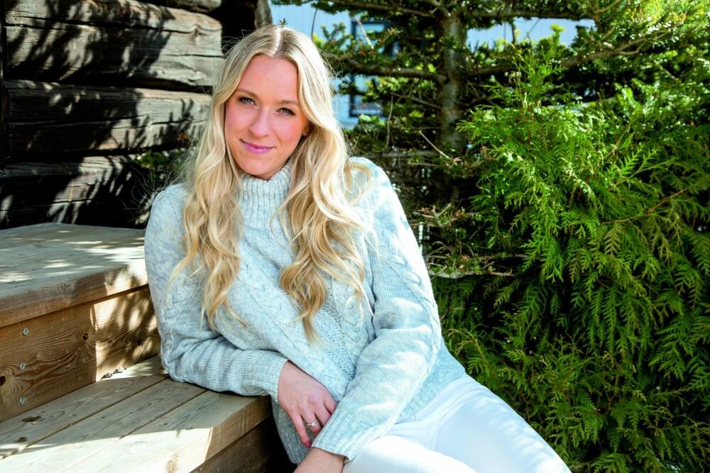 INGEN ALDERSNOIA: Katarina Flatland er ikke stresset over å bli 30 og ser frem til en hyggelig feiring.