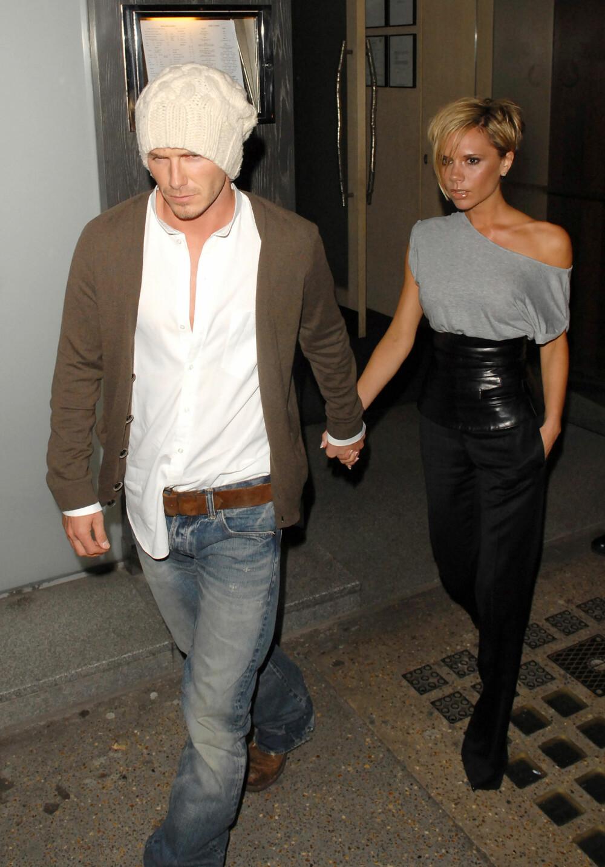 David og Victoria i 2007.