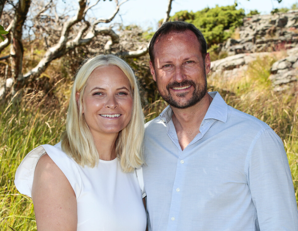 FLOTT PAR: Kronprinsesse Mette-Marit og kronprins Haakon.