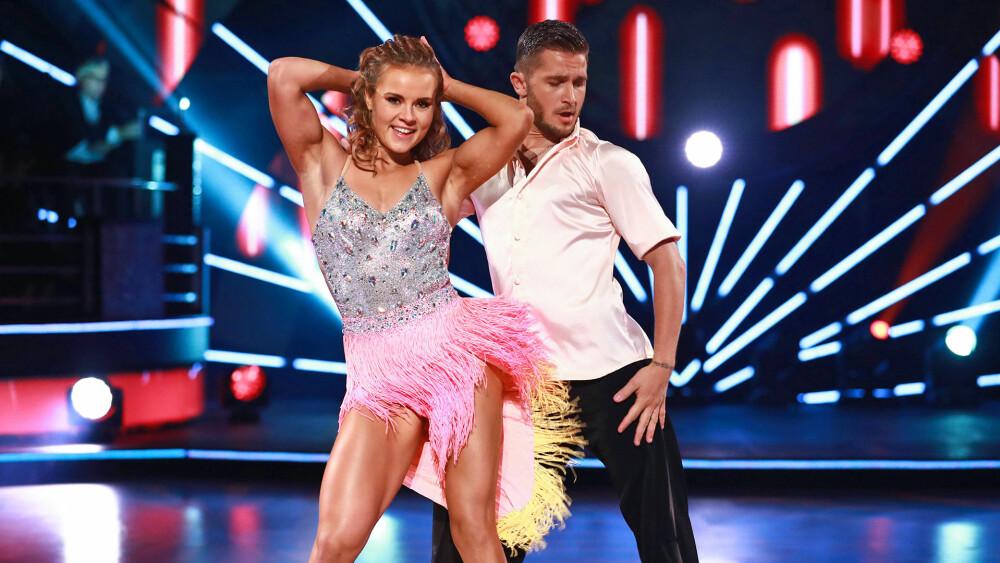 VANT: Helene vant både «Skal vi danse» og dansepartner Jørgen Nilsens hjerte i 2017. Først i august 2018 avslørte de at de var kjærester.