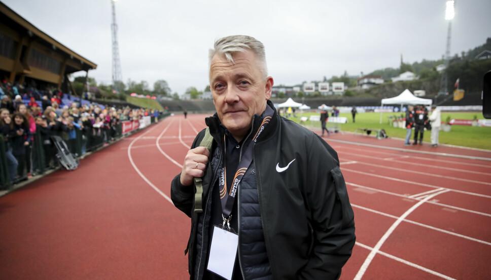 TRENER OG PAPPA: Henriks pappa og trener, Gjert Ingebrigtsen.