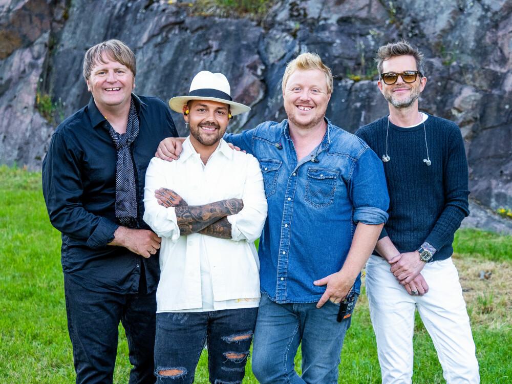 COMEBACK: 13 år etter at de «frelste» Norge med sin versjon av Leonard Cohens «Hallelujah» i 2006, er firkløveret tilbake som gruppen Lind, Nilsen, Fuentes, Holm.
